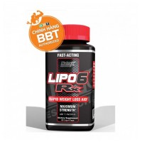 Nutrex Lipo 6 Black RX