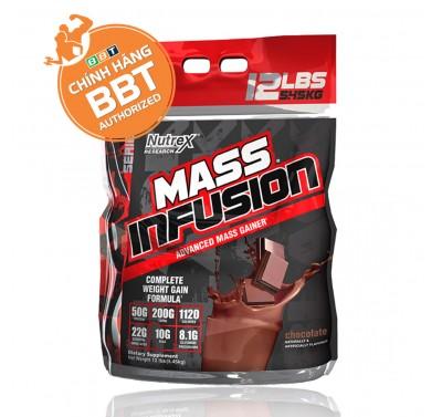 Nutrex Mass Infusion Bịch Lớn 5.45kg